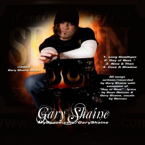Gary Shaine CD Insert