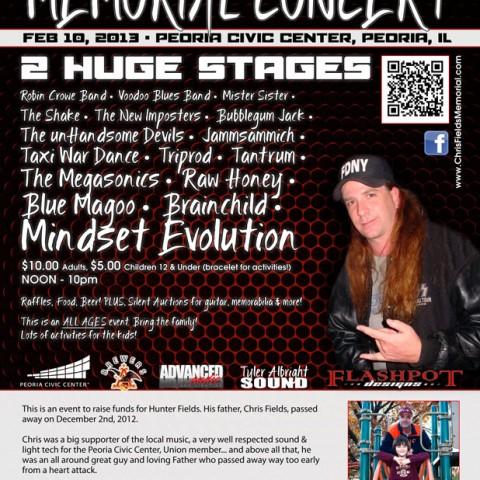 Chris Fields Concert Poster