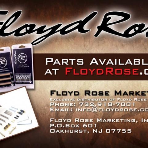 Floyd Rose Half Page