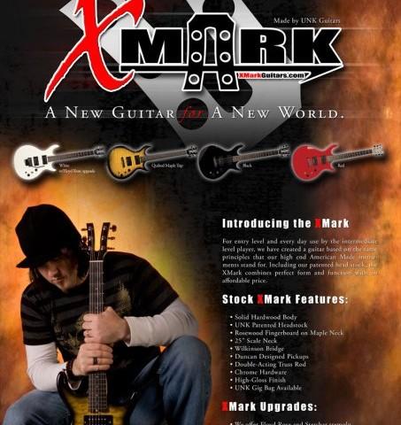 XMark Guitars Poster