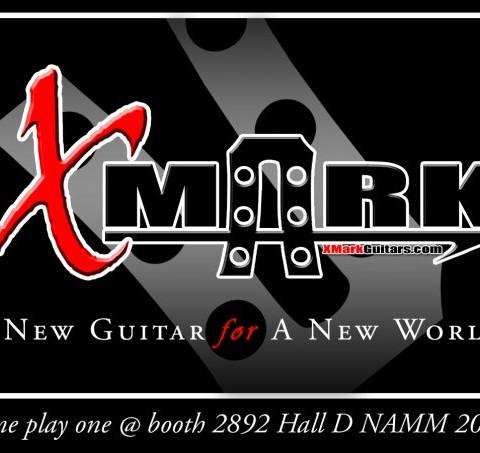 XMark Guitars Sticker